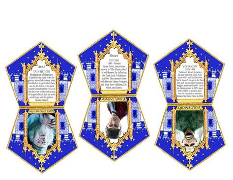 choclate frog cards template chocolate frog box template printable 69 infantry
