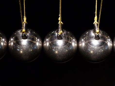 swinging steel balls pendulum free photo spherical ball joint pendulum free image on