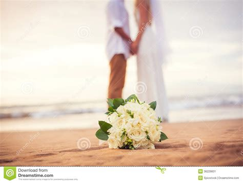 Wedding Holding by Just Married Holding On The Stock Image