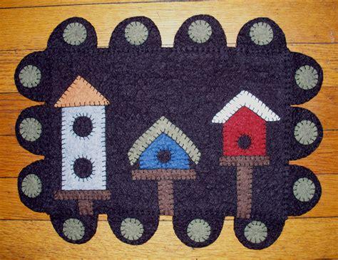 Wool Felt Rugs by Birdhouse Row Wool Felt Rug