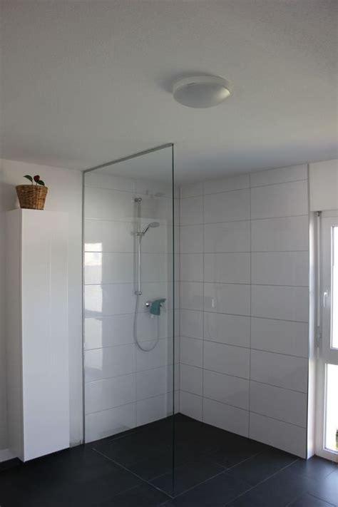 Dusche Mit Glaswand