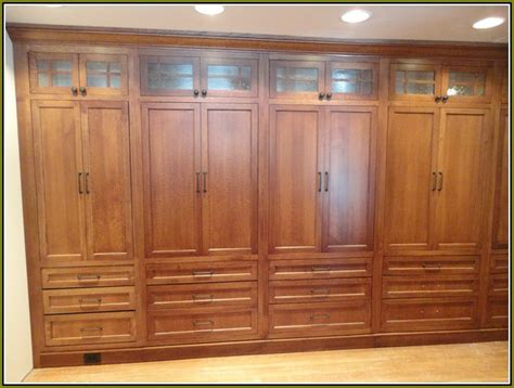 Wood Wardrobe Closet Furniture Black Wood Wardrobe Closet Home Design Ideas