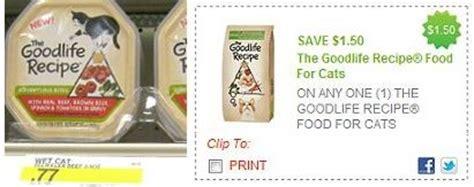 dog food coupons ontario 1 50 1 goodlife cat food free cat food at target