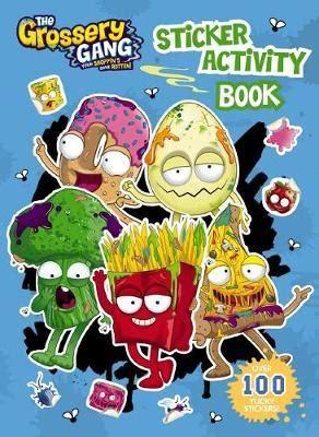 Grossery Gang Sticker Activity Book The Grossery Gang
