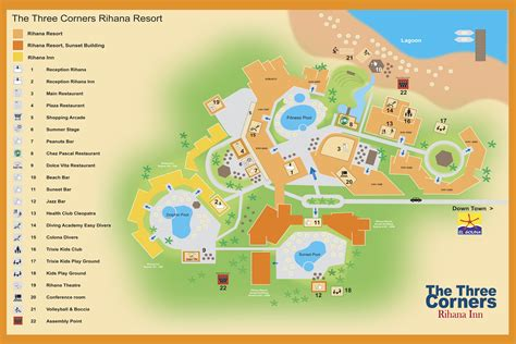 three corners equinox resort map отель three corners rihana resort 4 фри корнерс райхана