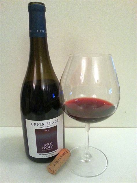 bench pinot noir upper bench estate winery a solid wine offering mywinepal