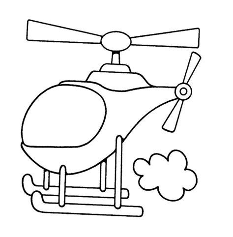 printable coloring pages toddlers free printable helicopter coloring pages for kids
