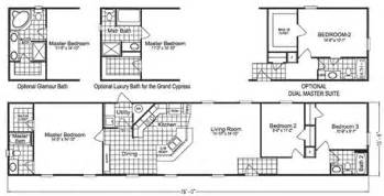 Single Wide Mobile Home Floor Plans mobile home floor plans singelwide single wide mobile home 3d floor