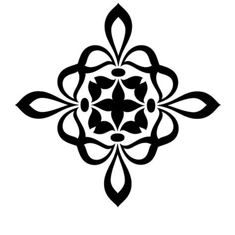 royal pattern black and white free illustration fleur royal black white free image
