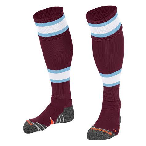 Laris League Fundamental Black White stanno league football socks premier teamwear