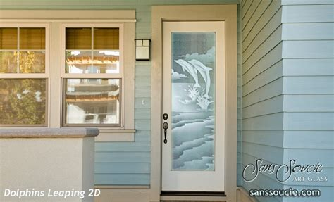 Entry Doors Sans Soucie Art Glass Glass Exterior Door