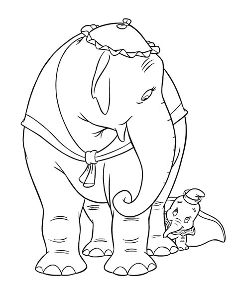 disney coloring pages dumbo coloring page dumbo