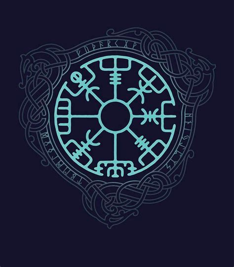 norse mythology tattoo designs viking protection and compass mythlogy