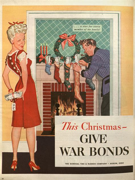 vintage everyday vintage christmas ads from 1940s 1980s