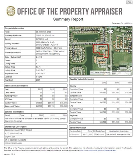 Miami Dade County Records Property Miami Dade Home Appraisal Home Review