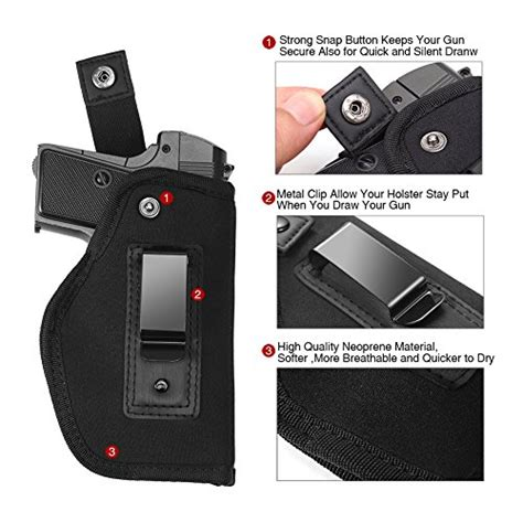 inside the waistband concealed carry holster lirisy inside the waistband holster gun concealed carry