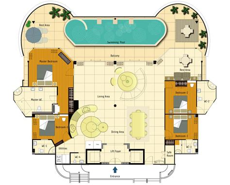 pent house floor plan the plantation loft penthouse floor plans floor plan