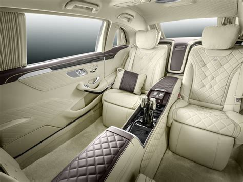 maybach 6 interior mercedes maybach s600 pullman is the epitome of three