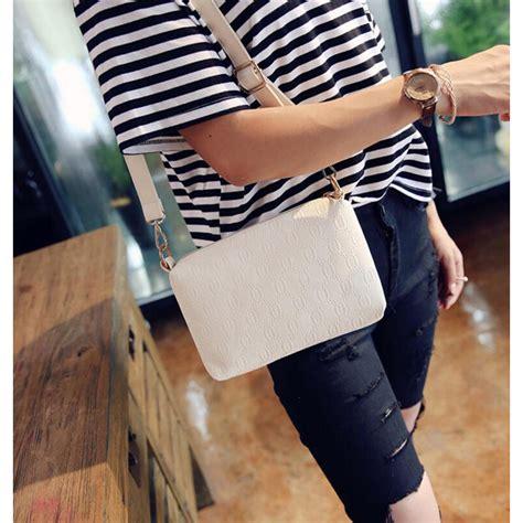 Tas Wanitatas Bagus Murah Bag 4 In1 With Import tas ransel fashion wanita bag in bag 4 in 1 beige jakartanotebook