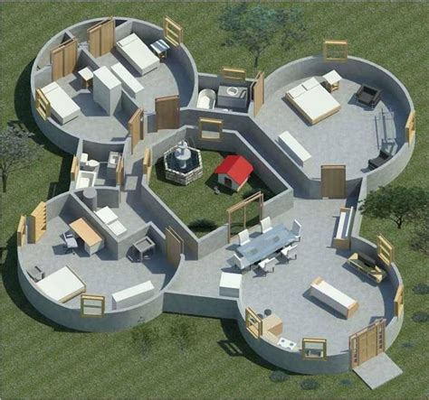 25 best ideas about underground house plans on