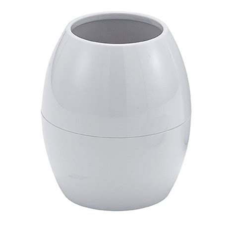 plastic bathroom tumbler buy egg shaped white plastic quot huevo quot bathroom tumbler