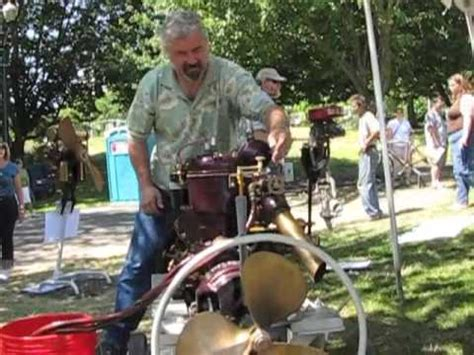 airboat with outboard motor antique boat motor youtube