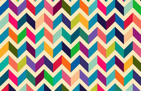 design zig zag multicoloured zig zag pattern wall mural muralswallpaper