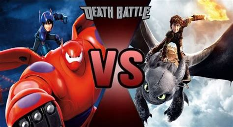 baymax life wallpaper prelude hiro and baymax vs hiccup and toothless by
