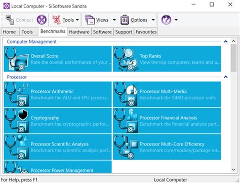 bench mark software free benchmark software for windows 10