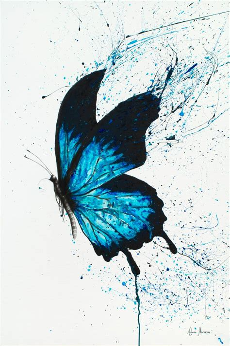 Butterfly Dreams saatchi butterfly dreams painting by ashvin harrison