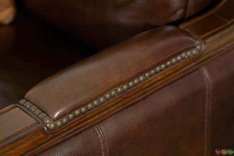 leather upholstery trim michael amini windsor court wood trim leather and fabric