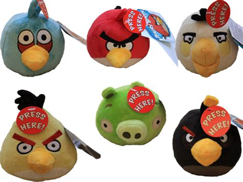Plush Card Reader Speaker Yellow Angry Birds Mini Speaker official angry birds 4 inch soft plush toys with sound effects ebay