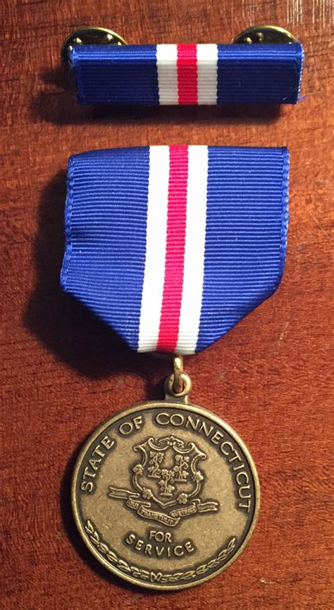 service ct state of connecticut wartime service medal