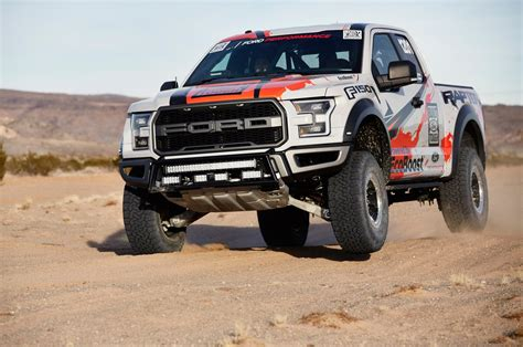 baja truck racing 2017 ford f 150 raptor to go desert racing