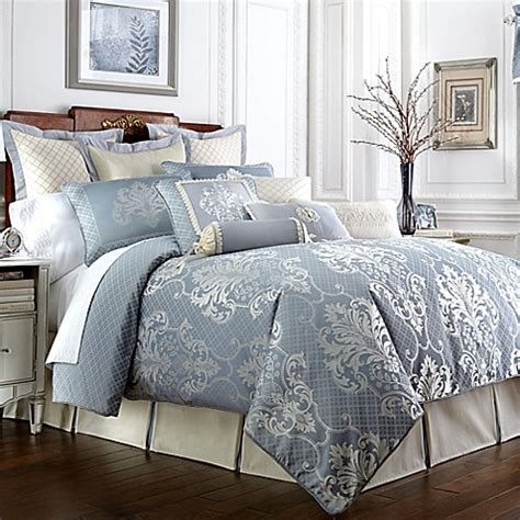 waterford bedding waterford 174 linens newbridge reversible comforter set bed bath beyond