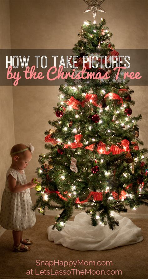 classic christmas tree pictures snap happy mom