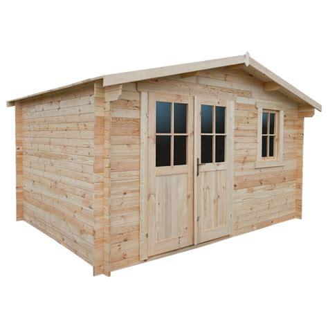 abri jardin bois 28mm abri de jardin en bois massif 12m 178 plus madriers 28mm gardy shelter