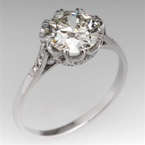 252 best images about antique engagement rings on