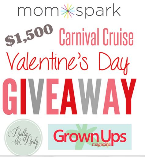 Free Cruise Giveaway - valentine s day cruise giveaway debt free spending