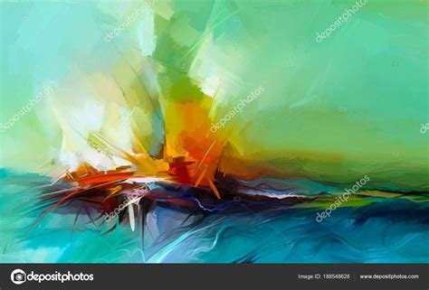 imagenes de cuadros abstractos al oleo im 225 genes cuadros abstractos de paisajes abstracto