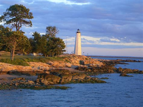 Light House Point by Decor The Lighthouse And The Sailboat Go Nautical