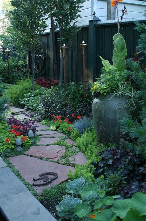 Side Yard Landscaping Ideas Garden Ideas On Pinterest Gardens Side Yards And Evergreen