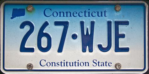 Ct Vanity Plates image connecticut license plates