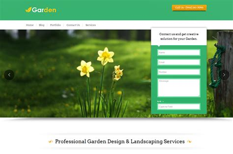 Gardening Websites 4 Business Friendly Themes For Your Website