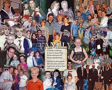 family picture collage ideas ideas using family pictures creative idea for family