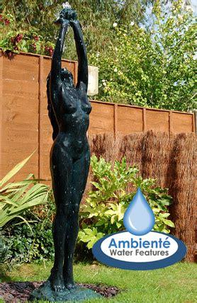 aphrodite figurine water feature