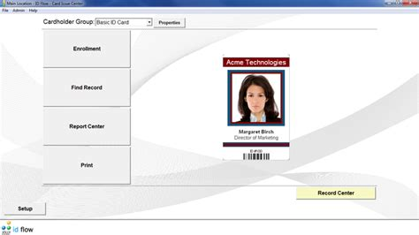 id card software free id flow free id card software