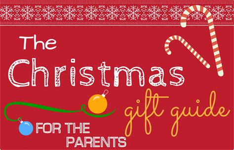 christmas gift guide for the parents likecubed
