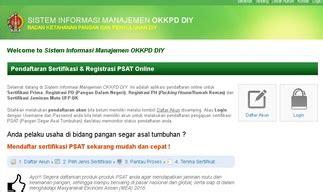 membuat sim yogyakarta website resmi badan ketahanan pangan dan penyuluhan daerah