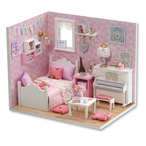 the doll house fashion online get cheap wood dollhouse furniture aliexpress com